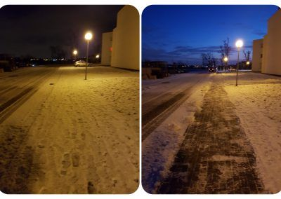 Usówanie śniegu