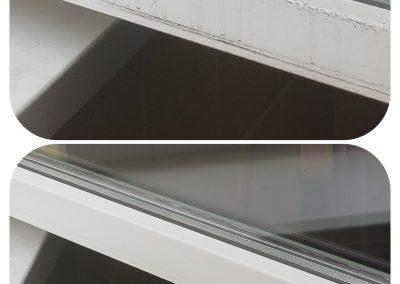 Mycie okien, ram, parapetów