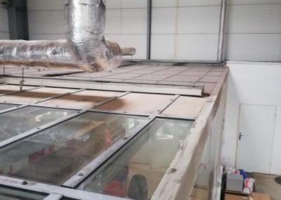 Doczyszzcanie powierzchni szklanych